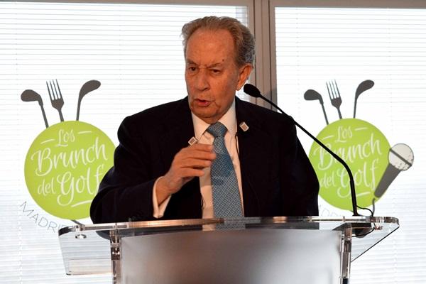 """Villar-Mir, protagonista de """"Los Brunch del golf"""". Una iniciativa de la Federación de Golf de Madrid"""