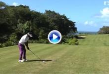 Estos fueron los 5 mejores golpes en la tercera jornada del AfrAsia Bank Mauritius Open (VÍDEO)