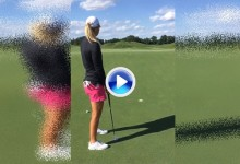 """La jugadora del LPGA Anna Nordqvist """"llama al ascensor"""" con este divertido Trick Shot  (VÍDEO)"""