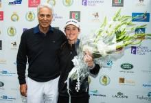 Victoria aplastante de Nuria Iturrioz en Marruecos. La balear, 20 años, firmó la mejor ronda del torneo