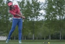 Piti Martínez Bernal a un golpe de la cabeza tras la primera ronda del Internacional Ladies Open