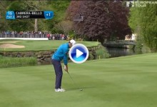 Un bellísimo golpe de Rafa Cabr.-Bello, entre los 5 mejores en la 2ª jornada del Irish Open (VÍDEO)