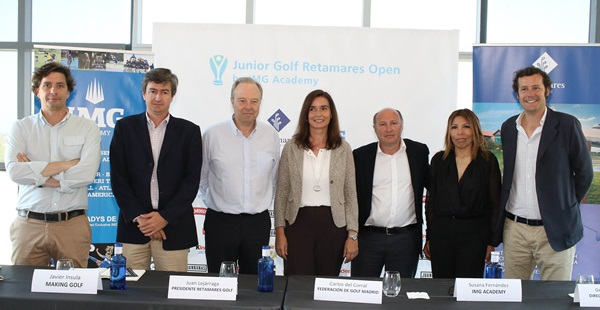 Responsables Junior Golf Retamares Open-IMG AcademyFernando Herranz