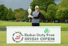 Gran gesto: McIlroy dona íntegramente los 666.660€ ganados en el Irish Open