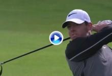 ¡¡Vaya golpazo de McIlroy!! El campeón del Irish Open sentenció en el 72 con este eagle (VÍDEO)