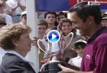 Hace 21 años, Seve Ballesteros conquistaba El Open de España, su título número 50 en el Tour (VÍDEO)