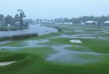 Otra tormenta obliga a suspender por segundo día seguido la 3ª ronda del Zurich Classic. ¿Y ahora qué?
