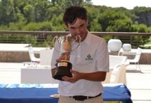 Ángel Hidalgo, nuevo campeón de España absoluto. Mantuvo el liderato de principio a fin en El Saler