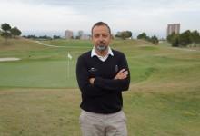 A. Pérez, Greenkeeper de Meliá Villaitana: «El objetivo es poner los dos campos entre los mejores de España»