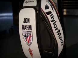 Jon Rahm paseará los colores del Athletic Club por todos los campos del mundo