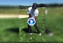 Bubba es el único que disfruta de los greenes de Oakmont. Lo dejó claro con este Trick Shot (VÍDEO)