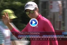 El putt, clave para Carlota y sus opciones de triunfo en Michigan. Vea sus mejores golpes (VÍDEO)