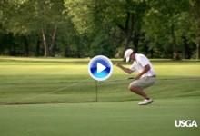 ¡Sobre la bocina! El amateur Crawford se clasificó para el US Open con este birdie en el 18 (VÍDEO)
