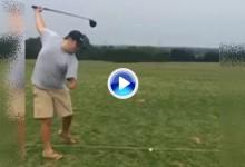 Vea el impresionante drive de Brandon McSwain jugador discapacitado con un solo brazo (VÍDEO)