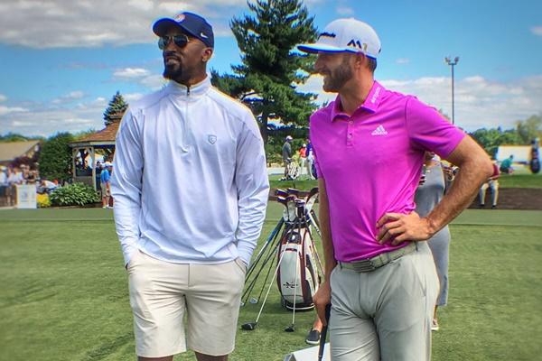 Dos campeones frente a frente. DJ y JR presumen de amistad antes del Bridgestone (Inc. VÍDEO)