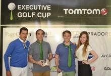 """Executive Golf Cup – Trofeo TomTom: Page Group y Sony se llevan la """"Corbata Verde"""" en el CNG"""