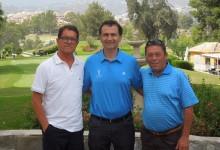 Fabio Capello disfrutó de una jornada de golf en Atalaya Golf & Country Club