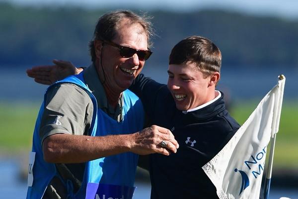 El golfista inglés se convierte en el más joven de la historia en vencer en el campeonato sueco. Foto: @EuropeanTour