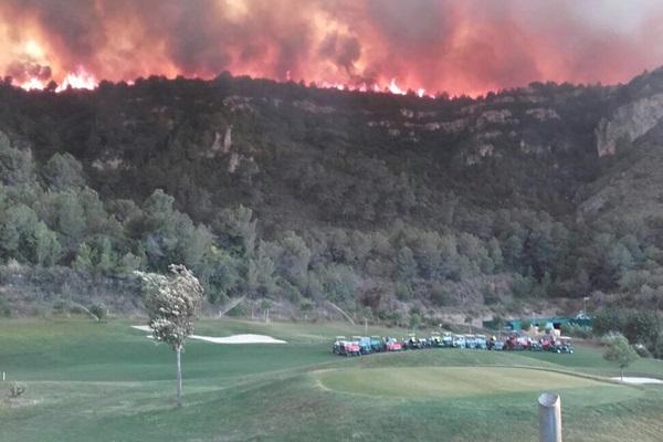 Incendio La Galiana