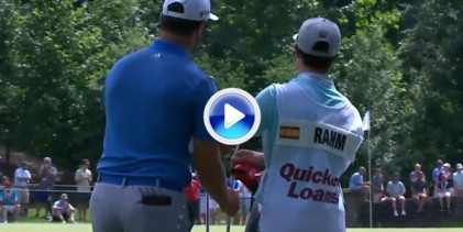 Hasta 5 golpes de Jon Rahm ¡cinco! se incluyen en el resumen de la 2ª jorn. del Quicken Loans (VÍDEO)