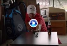 Trick Shots para días lluviosos. Spieth, protagonista del último anuncio comercial de Coca-Cola (VÍDEO)
