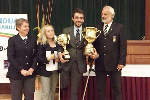 Juan Postigo, campeón de Europa de Golf Adaptado 2016