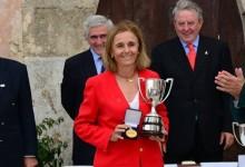 La madrileña Macarena Campomanes, brillantísima campeona de Europa Senior en Pula Golf