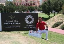 Marcos Pastor consigue en Doñana Golf su primer triunfo como profesional en el Camp. de España