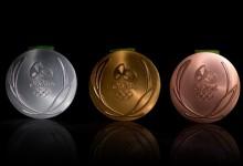 Los JJOO de Río de Janeiro presentan las medallas que lucirán en el podio los primeros clasificados