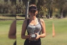 """Paige Spiranac, la Kournikova del golf, consigue su primer título como Pro: """"Ya puedo bajar de los 80"""""""