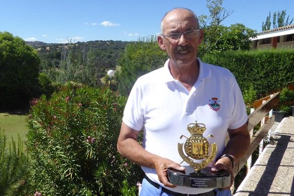 Pepe Dávila en el Nuevo Club de Golf de Madrid