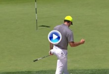 Rory McIlroy se despide del US Open pese a golpes tan espectaculares como éste en el hoyo 5 (VÍDEO)