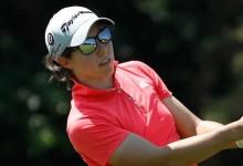 Aunque lejanas, Carlota Ciganda con opciones de victoria en el Portland Classic del Circuito LPGA
