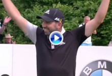 ¡¡Booomm!! Espectacular Hoyo en Uno de Sergio García en el BMW International Open (VÍDEO)
