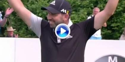 ¡¡Booomm!! Espectacular Hoyo en Uno de Sergio García en el BMW International Open (VÍDEO)