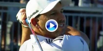 ¿Y su bola, le escucha cuando le habla? Sergio y otros golfistas del PGA lo intentan pero… (VÍDEO)