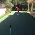 Sergio Garcia putting green 03