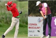 José Luis Adárraga y Toni Ferrer comparten liderato en el Campeonato de España tras firmar 66 golpes