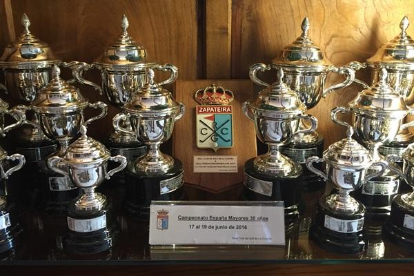 Trofeos Campeonato de España Mid Amateur