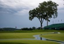 La lluvia se erige como protagonista del US Open y obliga a suspender la 1ª jornada en Oakmont