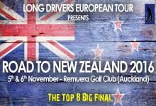 Nueva Zelanda acogerá la gran final del LDET 2016. Será la 1ª vez que el Tour salga fuera del continente
