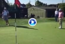 ¡Para temblar! Fowler da una muestra de la terrible velocidad de los greenes de Oakmont (VÍDEO)