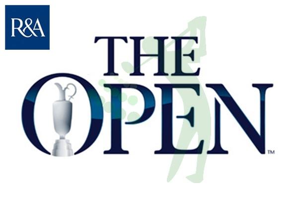 16 The Open Championship Marca y Logo