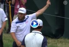 Resumen con los golpes destacados en la primera jornada del US PGA, último Grande del año (VÍDEO)