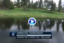 Greg Chalmers lidera el Barracuda tras la 2ª jorn. Estos fueron los golpes destacados del día (VÍDEO)