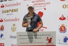 Natalia Escuriola vence de forma contundente en el Campeonato de España de Profesionales Femenino