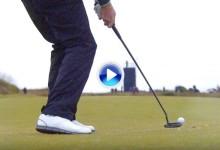 El Tour desafió a los jugadores a dejar la bola más cerca desde 180 metros ¡¡con el putt!! (VÍDEO)
