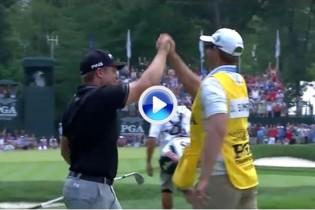 Estos fueron los golpes destacados en la tercera jornada del US PGA, último Grande del año (VÍDEO)
