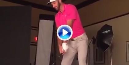 ¡Boooom! DJ revienta un letrero de un hotel con un poderoso drive que se le fue de las manos (VÍDEO)