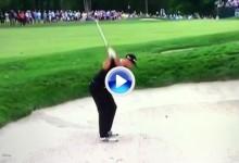 El Golf es duro: ¿Golpe fácil? Grave error de DJ desde la arena, todavía no se lo cree (VÍDEO)